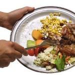 desperdicios de la comida